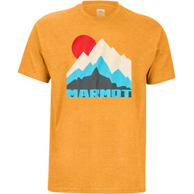 Marmot Tower T-shirt Homme, aztec gold heather
